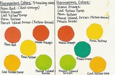 Harmonious Color Chart | Flickr - Photo Sharing!