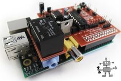 Jason Barnett is raising funds for MotorPiTX - Motor Board and Power Supply for a Raspberry Pi on Kickstarter! An easy to use motor/servo driver board and integrated power supply for your Raspberry Pi! Make cool robots and other awesome projects! Computer Projects, Arduino Projects, Diy Electronics, Electronics Projects, Projetos Raspberry Pi, Raspberry Pi Computer, Wifi, Rasberry Pi, Raspberry Pi Projects