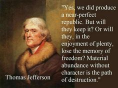 founding fathers quotes on freedom - Saferbrowser Yahoo Image Search Results Quotable Quotes, Wisdom Quotes, Quotes To Live By, Me Quotes, People Quotes, Lyric Quotes, Girl Quotes, Thomas Jefferson Zitate, Thomas Jefferson Quotes