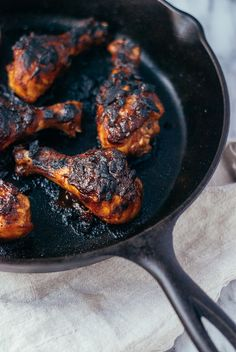 roasted chicken legs with caribbean-style barbecue sauce // brooklyn supper