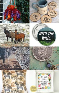 Wild and Free by Scarlett Wells on Etsy--Pinned with TreasuryPin.com