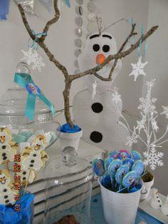 Cumples Tematicos: Cumpleaños de Frozen