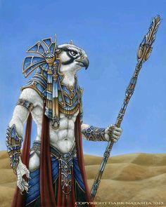 Horus... O senhor que tudo ve.