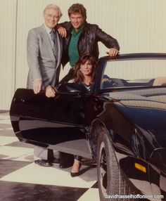 Knight Rider tv show....originally ran from September 26, 1982, to August 8, 1986. The series was broadcast on NBC.