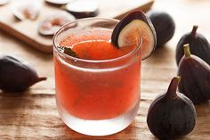 """""""[Celebrate] the flavor of ripe figs by muddling them with elderflower liqueur and shaking them in a cocktail shaker with vodka, lots of lemon, and agave nectar."""""""