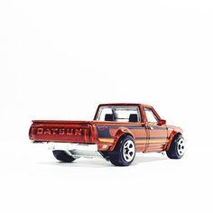 Datsun 620 Truck - Hot Wheels 9-10 multi-pack exclusive #hotwheels #hwc #jdm #datsun #trucks #toypics #toycrew #thelamleygroup #diecastphotography #diecast