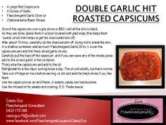 DOUBLE GARLIC HIT ROASTED CAPSICUMS Flaschengeist Garlic Oil