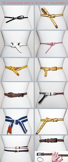 12 Ways To Knot Your Belt.