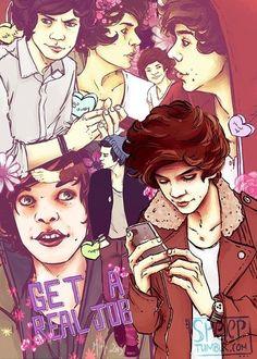 One Direction Fan Art: Harry S.