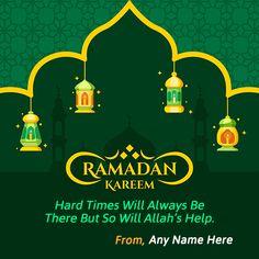 Want to write name Ramadan Kareem greeting card 2019? Muslim festival celebrated Ramadan Kareem picture ecards with name download. Religious Blessings Spirit of Ramadan Mubarak Kareem wishes card of your friends    #ramadan #ramadankareem2019 #eidmubarak2019 #muslimfestival #wishme29 #eidmubarakgreetingcards #ramdangreetingcards #happyeidmubarak #ramadankareemwishes #ramadan2019 #ramdaneid2019 #ramadanmubarak #eidalfitr2019 #eidwishesimages #5june2019 #ramdankareempics #ramdanmubarakwishesphotos - Happy Eid Mubarak  IMAGES, GIF, ANIMATED GIF, WALLPAPER, STICKER FOR WHATSAPP & FACEBOOK