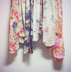 floral tights collection