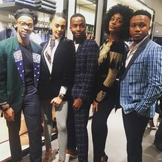 check out this crew at the Hugo Boss store opening at the V&A Waterfront! Yanga Madlala Simone Theunissen Trevor Stuurman Roxanne Kalie Sivuyile Madikana HugoBoss #Fashion  via MARIE CLAIRE SOUTH AFRICA MAGAZINE OFFICIAL INSTAGRAM - Celebrity  Fashion  Haute Couture  Advertising  Culture  Beauty  Editorial Photography  Magazine Covers  Supermodels  Runway Models