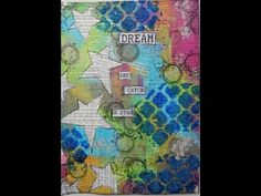 Catch A Star: Creating an art journal page from start to finish