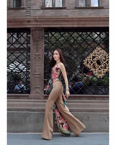 """Jessica's elegant style at New York Fashion Week"" Fashion Line, Kpop Fashion, New York Fashion, Snsd, Yoona, Magazine Cosmopolitan, Instyle Magazine, Jessica & Krystal, Krystal Jung"