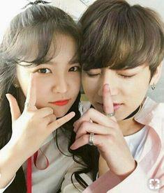 Bts Girlfriends, Fake Family, Kpop Couples, We Get Married, Jeon Jeongguk, I Love Bts, Woozi, Bts Jungkook, Chemistry