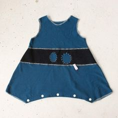 upcycle a pair of jeans into a toddlers outfit.
