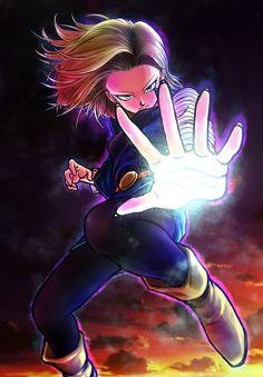 Dragon Ball Z, Dragon Z, Android 18, Akira, Krillin And 18, Susanoo Naruto, Manga Dragon, Dragon Images, Anime Costumes