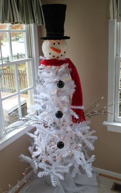 1000 Images About Snowman Tree On Pinterest Crackers