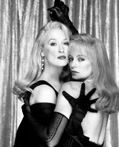 meryl and goldie. LOVE this picture for some reason... #80sbaby #bighairdontcare #lbb
