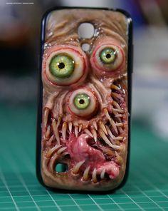 Tri-Eye Monstrosity  Samsung Galaxy S4  Mini by MorgansMutations