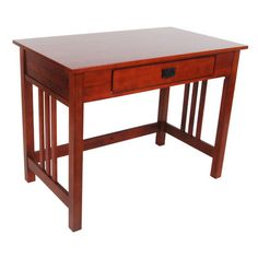 Alaterre Craftsman Writing Desk & Reviews | Wayfair