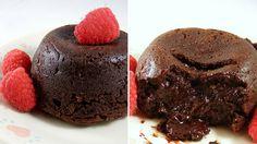 Paleo chocolate lava cake #paleo #valentines