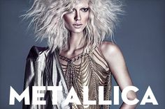 From the April issue: The metallic trend takes another spin in our latest photo shoot