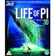 BARGAIN Life of Pi (Blu-ray 3D + Blu-ray + UV Copy) NOW £8.99 At Amazon - Gratisfaction UK Bargains #lifeofpi