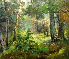 Мишагин Андрей. Лес зелёный