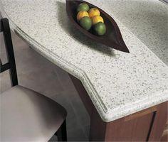 Bluestone Kitchen Island Countertop From Wilsonart @Wilsonart LLC