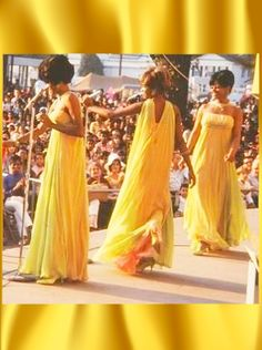 Diana Ross & The Supremes - 1967 @ The Michigan State Fair. At this point, Florence was fired, Cindy had left Patti LaBell & The Bluebells and was the new Supreme.