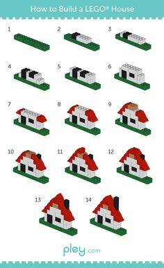 Ever wanted to know how to build an awesome LEGO house? Pley, the leading online toy rental service shows you how in its LEGO how-to series.