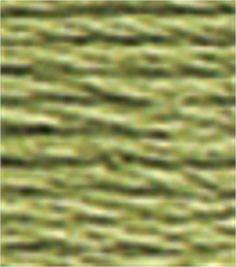 DMC Cotton Embroidery Floss Group #1 Greens 8.7 Yds - 369 Very Light Pistachio Green