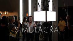 SIMULACRA - interactive video installation by Karina Smigla-Bobinski at FILE São Paulo in Centro Cultural FIESP – Ruth Cardoso Avenida Paulista, São Paulo, Brazil www.smigla-bobinski.com/english/works/SIMULACRA