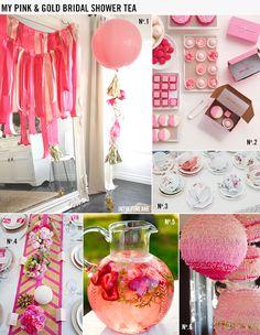 Wedding Wednesday: My Pink & Gold Bridal Shower Tea // LoveCreative Blog