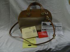 NWT Dooney & Bourke Small Cabriolet Satchel bag purse tan    #DooneyBourke #Satchel