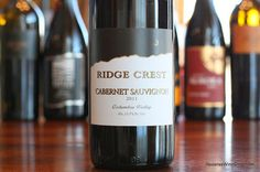 The Reverse Wine Snob: Ridge Crest Cabernet Sauvignon 2011 - Delicious And Fun To Drink! More winning wine from Washington State. http://www.reversewinesnob.com/2014/03/ridge-crest-cabernet-sauvignon.html #wine #winelover