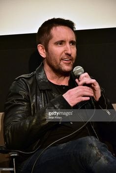 Musician Trent Reznor of the band Nine Inch Nails attends the special screening of 'Gone Girl' at Elinor Bunin Munroe Film Center on December 11, 2014 in New York City.