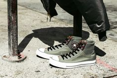 "Converse Chuck Taylor All Star MA-1 Zip ""Nylon"" Pack - Digging these."