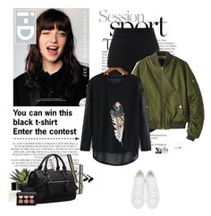 """""""Enter the contest!!! ⬇⬇⬇"""" by yexyka ❤ liked on Polyvore featuring Balmain, Rachel, Alexander McQueen, Chicsense and Marc Jacobs"""