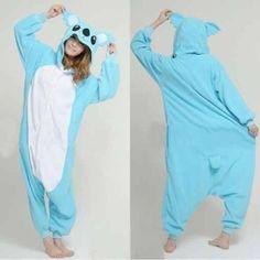Blue koala Onesie for Adults