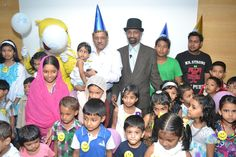 Department of Paediatric & Neonatal Surgery had conducted VAVA's Day Out on 7th October 2012 for the kids who have been undergone surgery while in the age of first month.