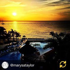 There is no better way to end the day than with this stunning #sunset photo taken at #SecretsWildOrchid by @marysataylor. #UnlimitedVacationClub #Jamaica #MontegoBay #Paradise #OceanView