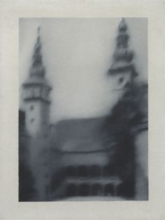 Gerhard Richter, Kleine Kirche (Small Church), 1966, 40 cm x 30 cm, Oil on canvas
