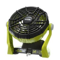 Ryobi ONE+ 18-Volt Hybrid Portable Fan (Tool Only)-P3320 - The Home Depot