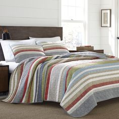 Shop a great selection of Eddie Bauer 221109 Salmon Ladder Reversible Quilt Set, King, 3 Piece. Find new offer and Similar products for Eddie Bauer 221109 Salmon Ladder Reversible Quilt Set, King, 3 Piece. Coverlet Set, Bed, Bed Bath And Beyond, Duvet Cover Sets, Bedding Stores, Bedding Sets, Modern Bed, Bedding Collections