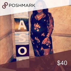 Maternity or plus size dress My baby shower dress, it's a boohoo plus size dress Boohoo Dresses Maxi