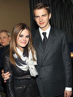 Rachel Bilson and husband