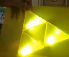 3D Triforce Light