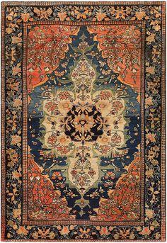 Anique Persian Faharan Sarouk Rug 48101 Main Image - By Nazmiyal